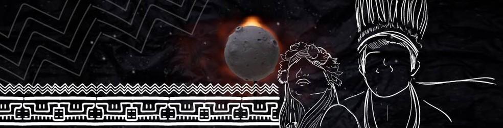Existe uma expressão própria em tupi para os eclipses — Foto: Wagner Magalhães/G1