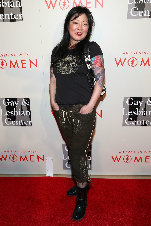 A comediante Margaret Cho durante um evento em Hollywood (Foto: Getty Images)