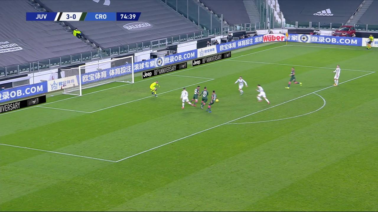 Melhores momentos: Juventus 3 x 0 Crotone, pela 23ª rodada do Campeonato Italiano