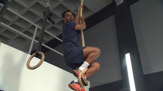 Ju Moraes desafia Pablo Vasconcelos a fazer um treino de crossfit