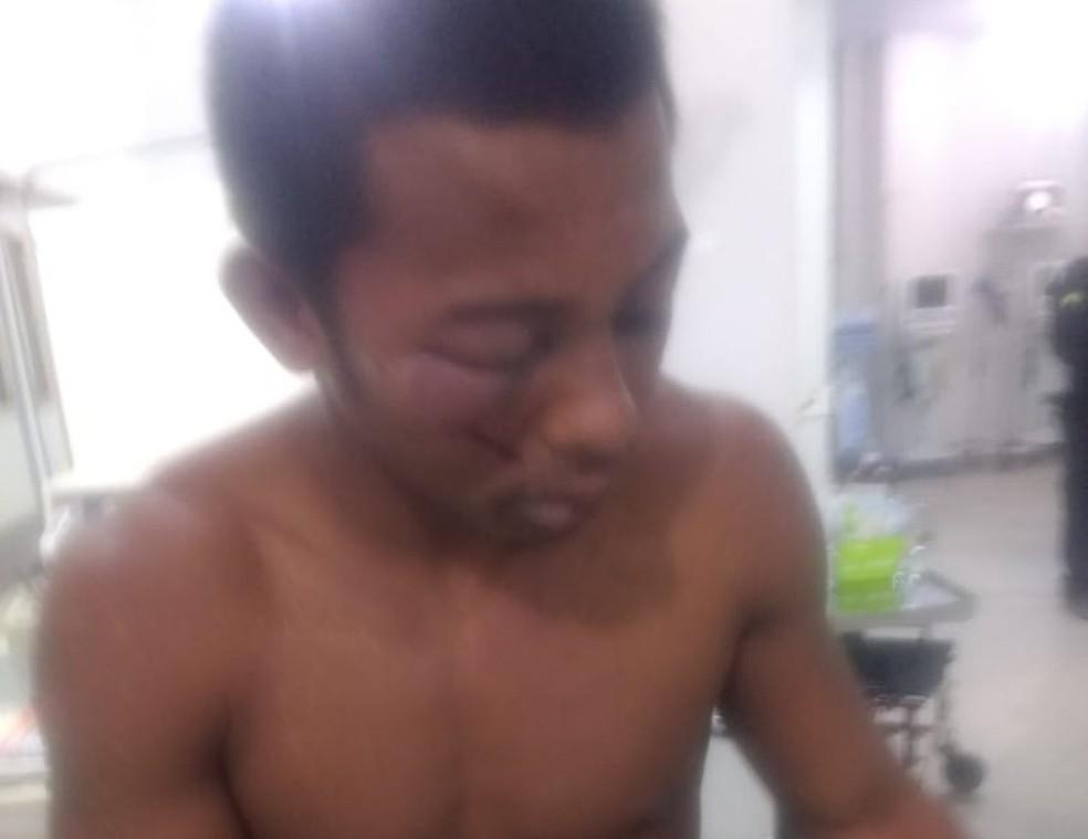 Jovem foi resgatado enquanto sofria tortura em uma casa no bairro Aroeira (Foto: Divulgação/Polícia Civil)