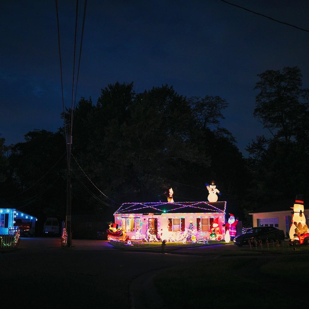 As casas decoradas (Foto: Reprodução / Instagram)