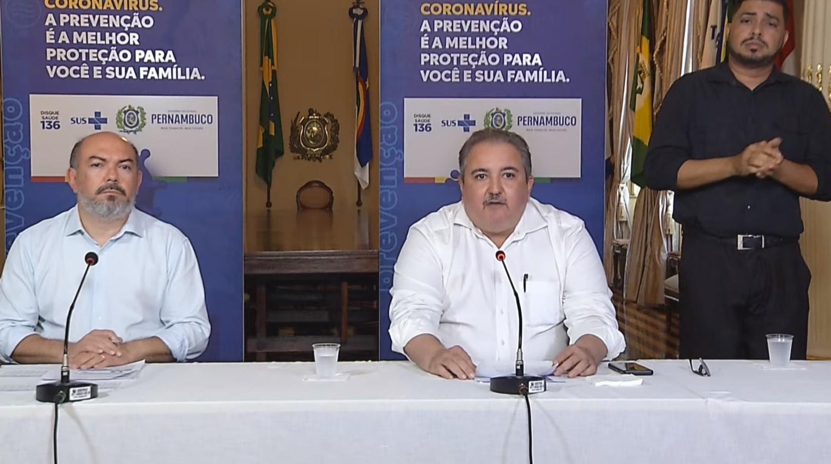 Pernambuco tem 99% dos leitos de UTI dedicados à Covid-19 ocupados, diz secretário de saúde
