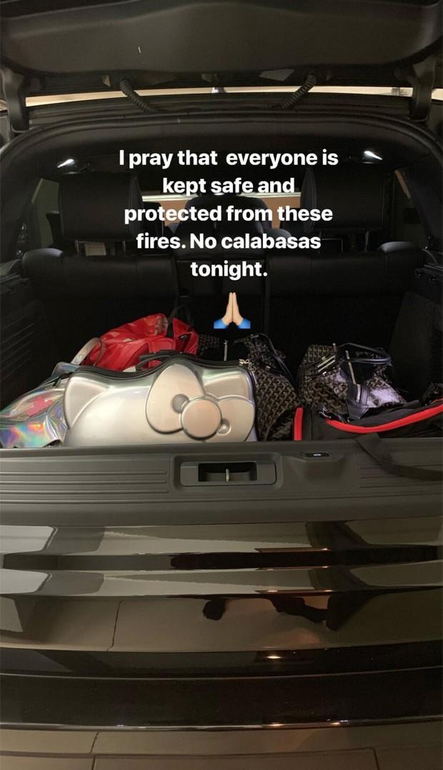 Publicação de Kourtney Kardashian (Foto: Reprodução/Instagram)