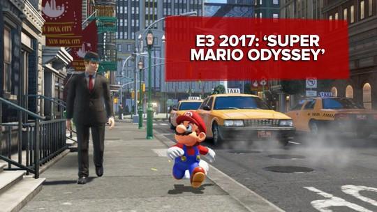 'Super Mario Odyssey' une surreal e clássico em estreia de Mario no Nintendo Switch; G1 jogou