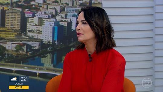 'O final de um relacionamento abusivo é o feminicídio', diz Luiza Brunet sobre violência contra a mulher