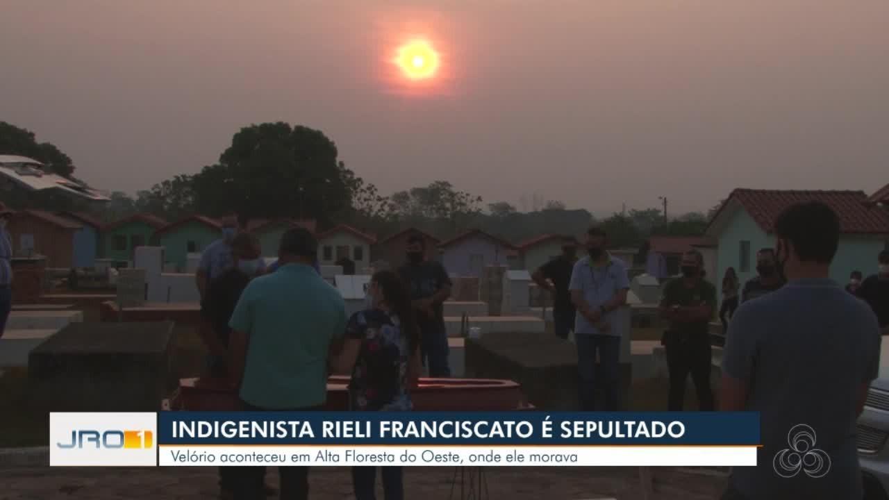 Indigenista Riele Franciscato é sepultado