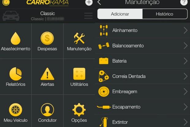 Aplicativo Carrorama (Foto: Reprodução)