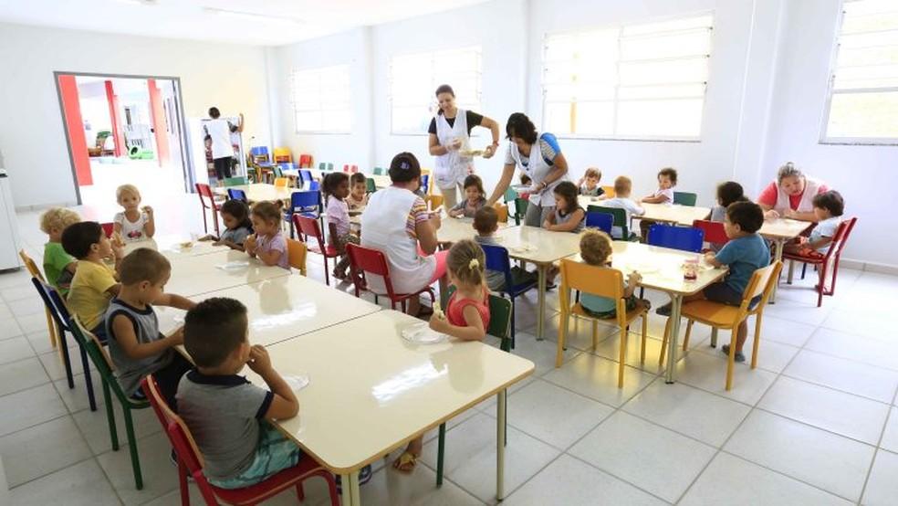 Centro Educação Infantil Maria Laura Cardoso Eleoterio, em Joinville — Foto: PMJ/ Divulgação