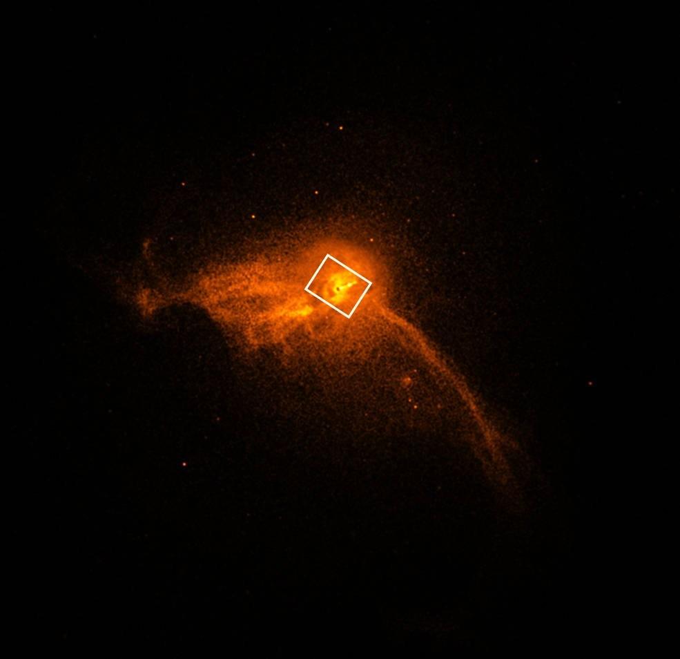 Observatório analisa galáxia M87 (Foto: Divulgação)