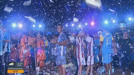 VÍDEO: veja como foi a abertura dos Jogos Abertos do Interior