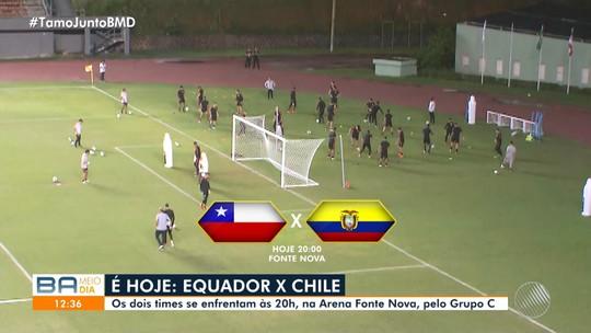 Turistas do Equador e do Chile invadem Salvador para jogo da Copa América