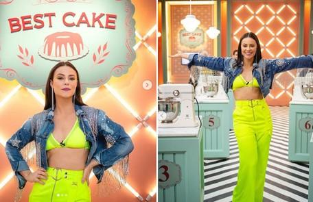 Com o figurino usado em sua primeira aparição no Best Cake, Vivi Guedes conquistou 297 mil likes Reprodução/Instagram Vivi Guedes
