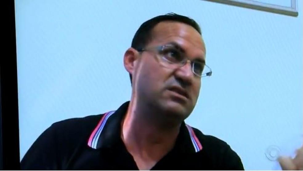 Ex-padre confessou homicídio à polícia 10 dias após o crime (Foto: Reprodução/RBS TV)