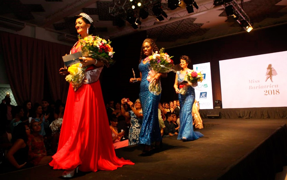 Dezesseis candidatas disputaram o concurso — Foto: Nando Filho Imagens