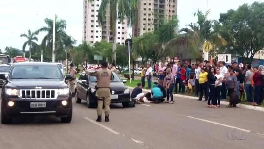 Jovem morre três dias após ser atropelada na avenida JK em Palmas