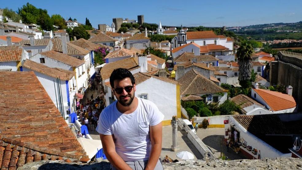 Alex Abrahams obteve cidadania portuguesa — Foto: Arquivo pessoal