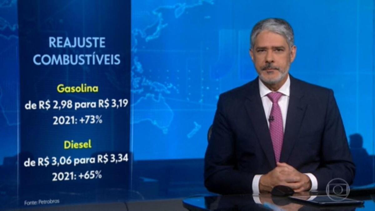 Petrobras anuncia novos reajustes dos combustíveis nas refinarias