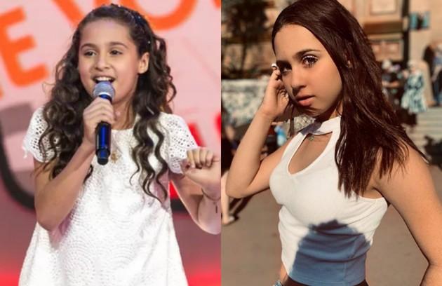 Ana Beatriz Torres participou do reality aos 10 anos. Hoje, faz parte do trio musical BFF Girls, junto com Giulia Nassa, que esteve no programa no mesmo ano (Foto: Reprodução)