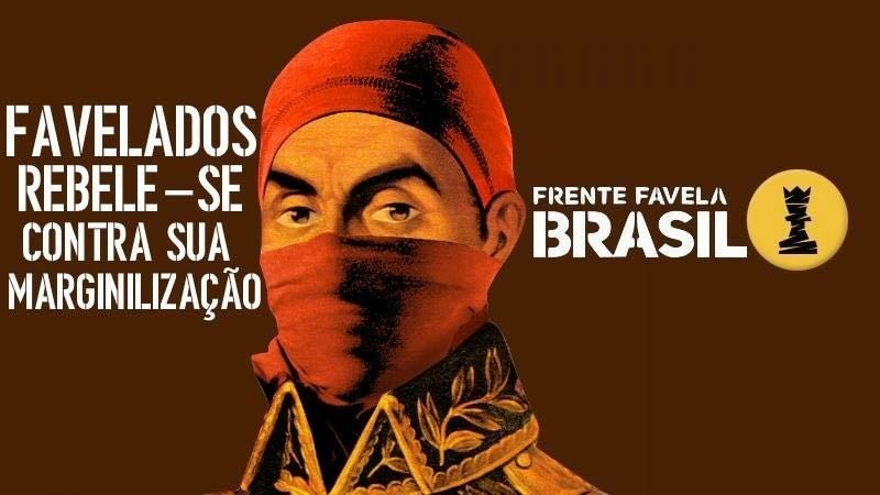 Cartaz da Frente Favela Brasil