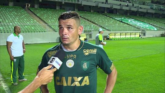 Ruy lamenta empate sem gols do América-MG com o Corinthians em casa
