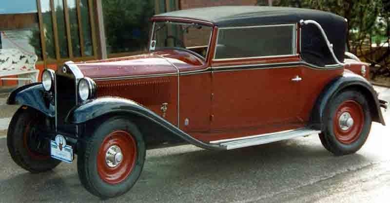 Lancia Artena Cabriolet 1931