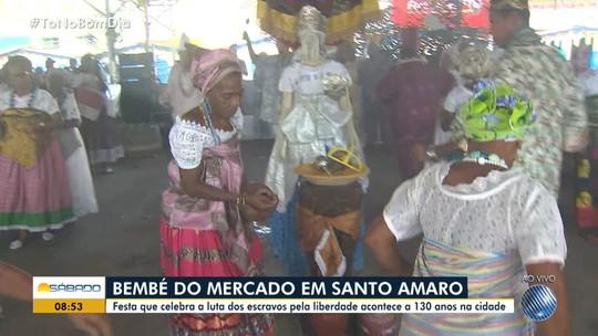 Tradição: Festa do Bembé do Mercado movimenta Santo Amaro
