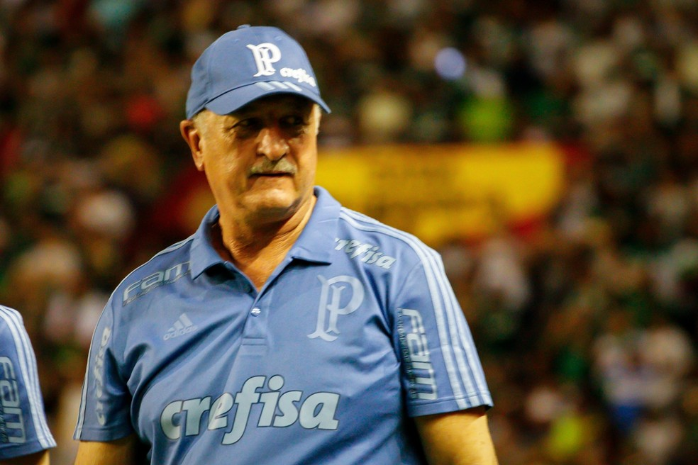 Felipão entende que um empate também poderia ter um placar justo — Foto: Rafael Melo/Estadão Conteúdo