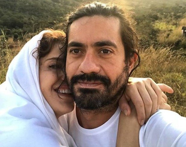 Bárbara Paz e Paulo Sousa (Foto: Reprodução/Instagram)