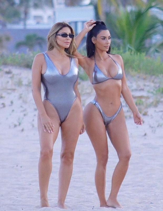 Larsa Pippen e Kim Kardashian (Foto: Reprodução/Instagram)