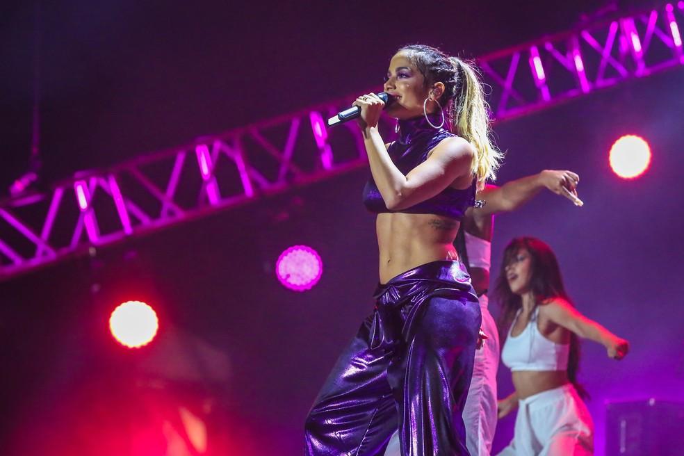 -  Anitta em show no Planeta Atlântida 2018  Foto: Marcos Nagelstein / Agência Preview