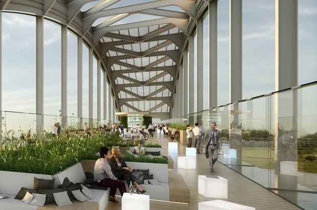 Arquitetos propõem transformar ponte abandonada na Holanda em moradia sustentável (Foto: reprodução)