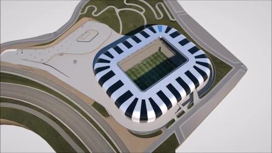 #Galo 110 anos: projeto de estádio nasceu após jogo de tênis e está em sua 27ª versão