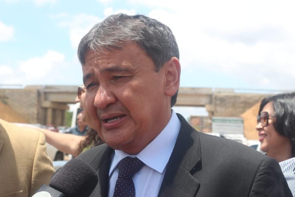 Governador Wellington Dias.  — Foto: Andrê Nascimento/G1