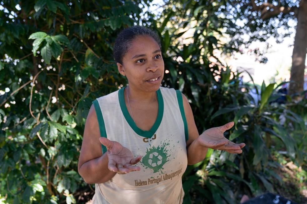 Márcia Pena participa do Projeto Prato Verde Sustentável há 5 anos. Foto: Marcelo Brandt/G1.