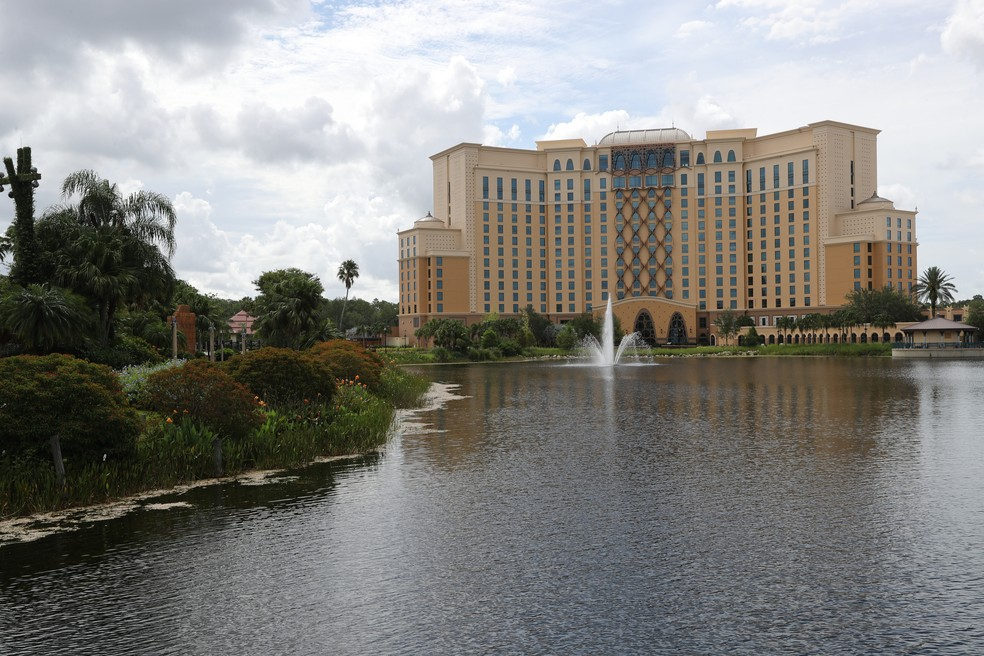 Hotel Grand Destino Tower, NBA, Disney — Foto: Joe Murphy/Getty Images