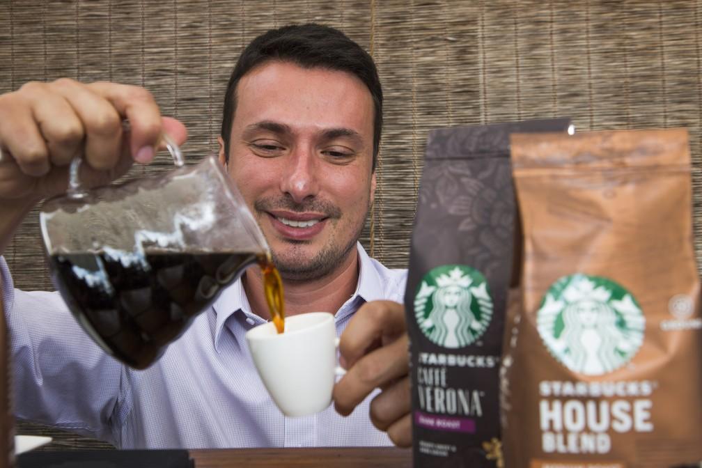 Dicas de Daniel ajudam a extrair o máximo de sabor do café — Foto: Gabi Di Bella