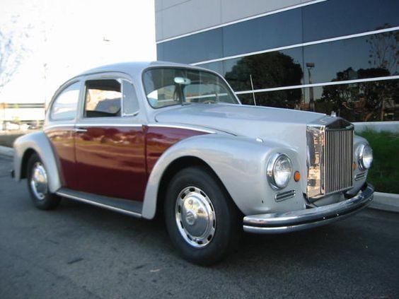 Volkswagen Fusca Rolls Royce (Foto: Old Bug)