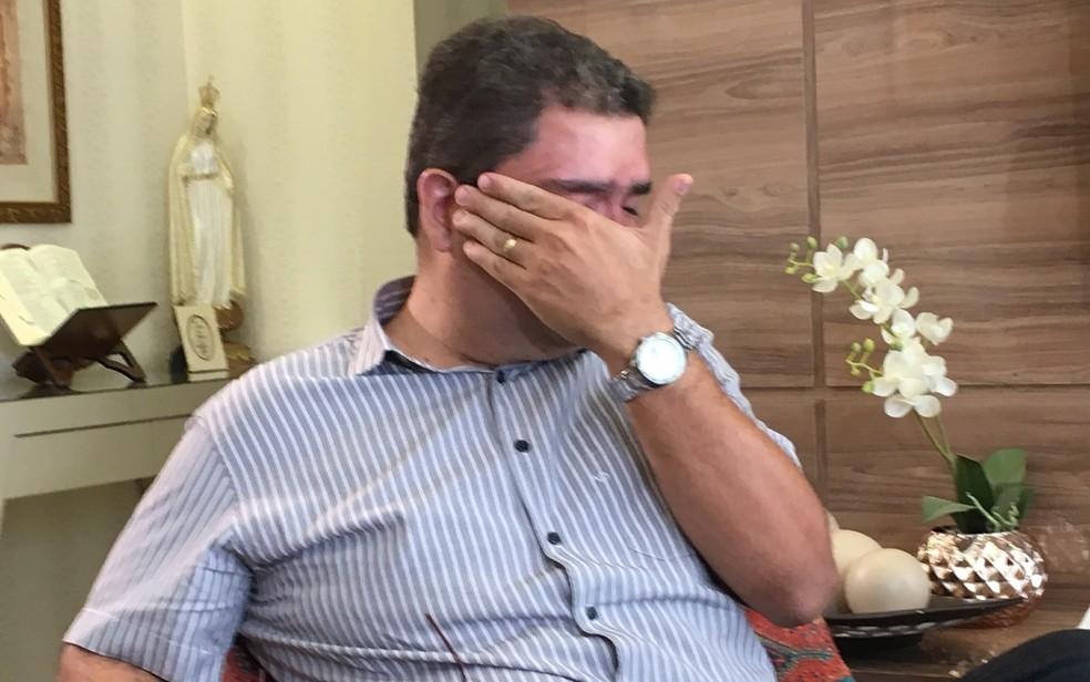Pai de João Vitor diz que o filho era 'sem defeitos' (Foto: Paula Resende/ G1)