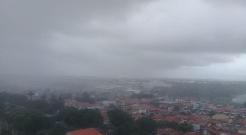 Funceme prevê chuvas eventuais nas próximas 48 horas. — Foto: Cintia Xerez/Arquivo Pessoal