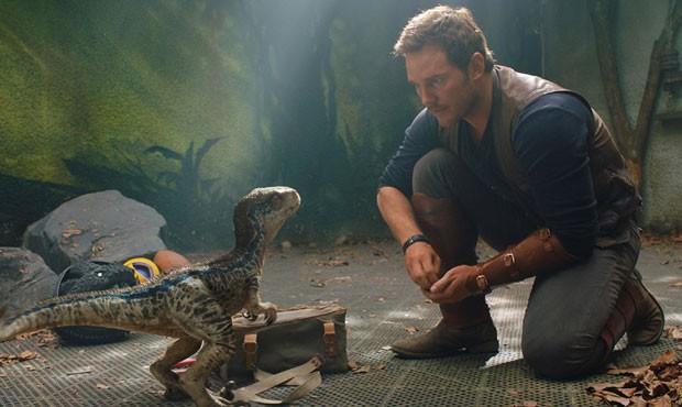 Chris Pratt em Jurassic Park: Reino Ameaçado (Foto: Divulgação/Universal)