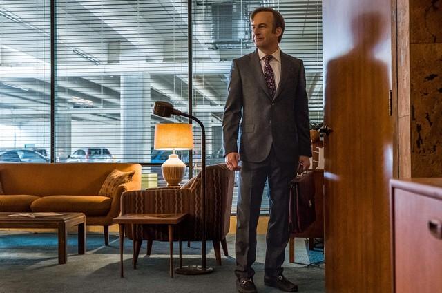 'Bob Odenkirk' em 'Better call Saul' (Foto: Divulgação)