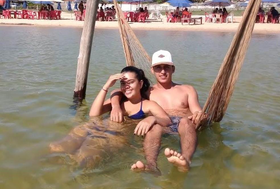 Gabriele e Andres moravam juntos há cerca de um ano — Foto: Divulgação