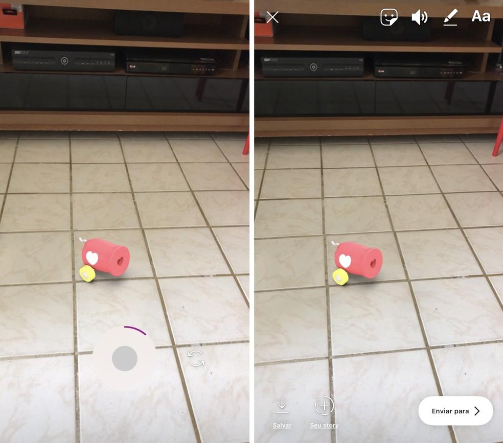 Instagram Novos efeitos utilizam realidade aumentada