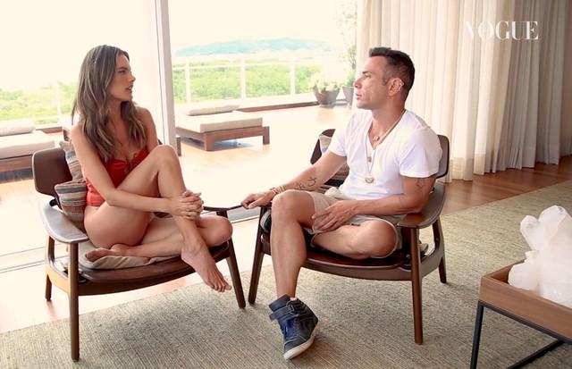 Alessandra Ambrosio e Matheus Mazzafera (Foto: Divulgação)