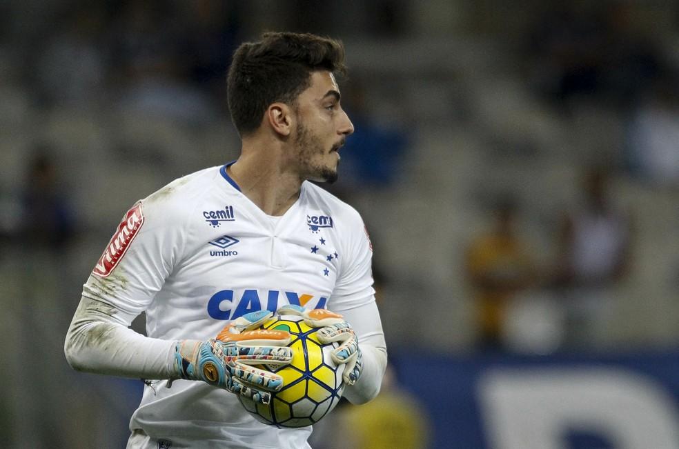 Rafael agora é goleiro do Atlético-MG — Foto: Washington Alves/ Lightpress