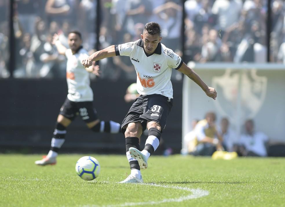 Raul era titular do Vasco desde 2018 — Foto: André Durão / GloboEsporte.com