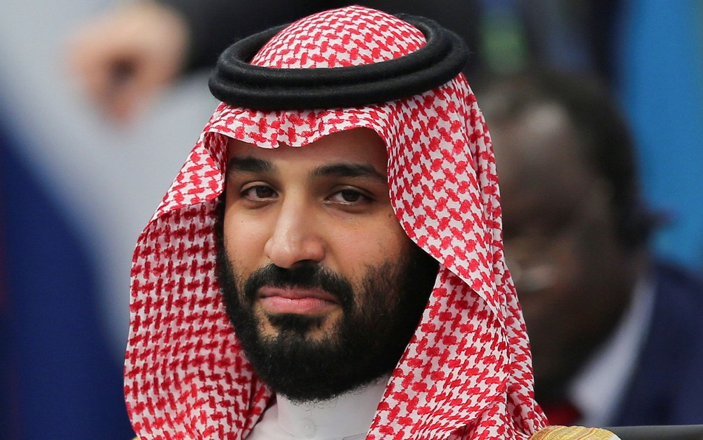 Mohammed bin Salman virou líder da Arábia Saudita no ano passado — Foto: Reuters/Sergio Moraes