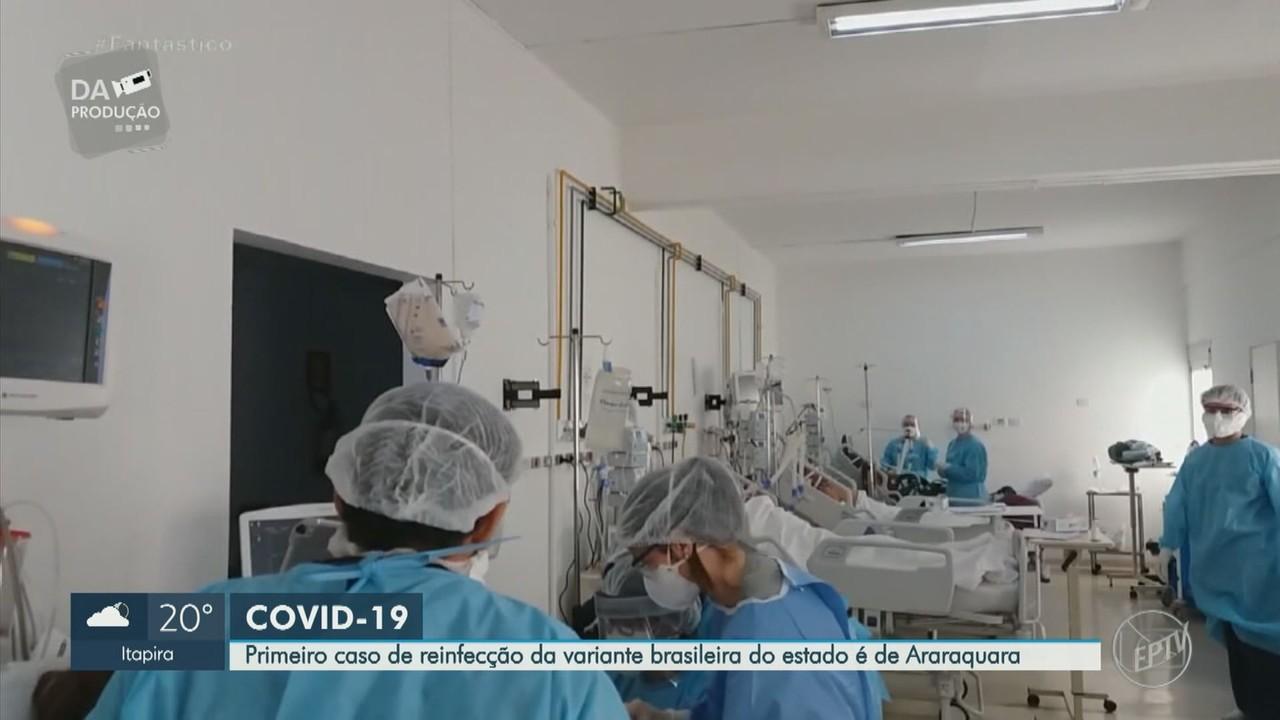 Araraquara identifica primeiro caso de reinfecção da variante P.1 em paciente