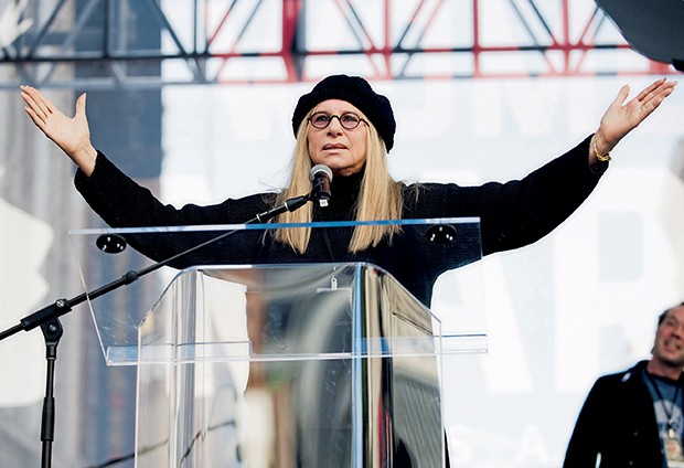Barbra Streisand em Los Angeles  (Foto:  )
